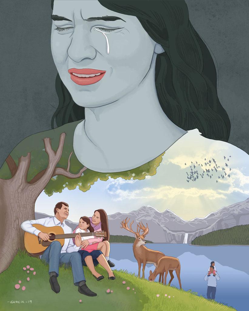 Theispot com - Daniel Garcia Illustration: Anna and the