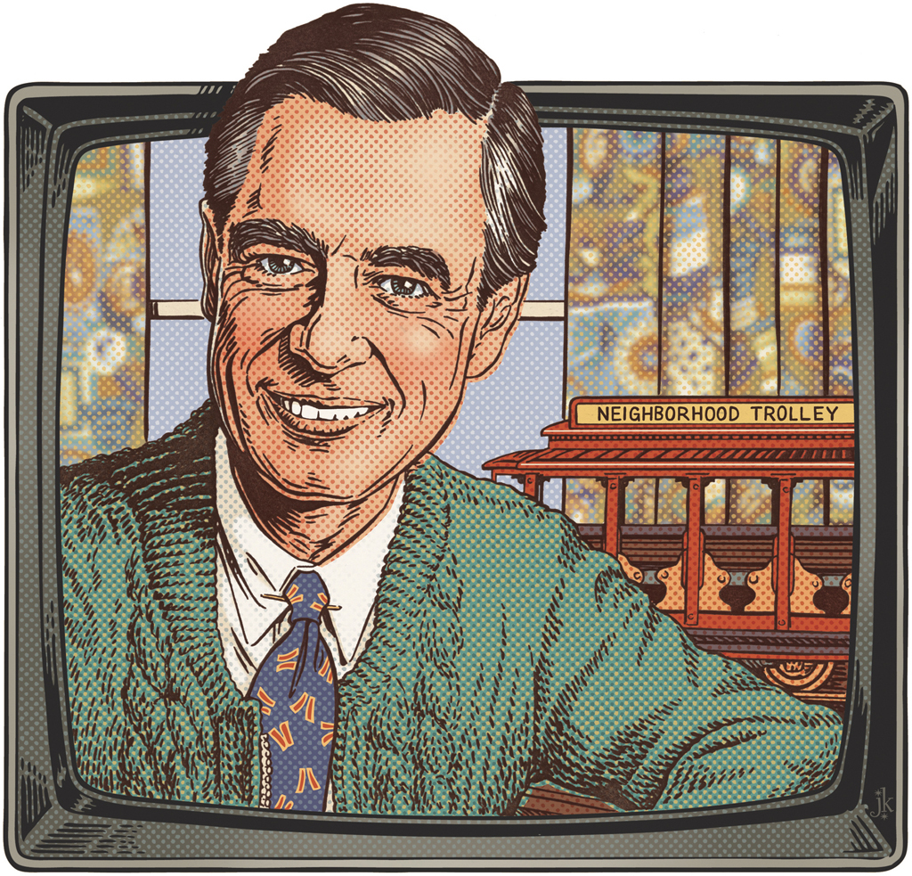 Theispot Com John Kachik Illustration Mr Rogers