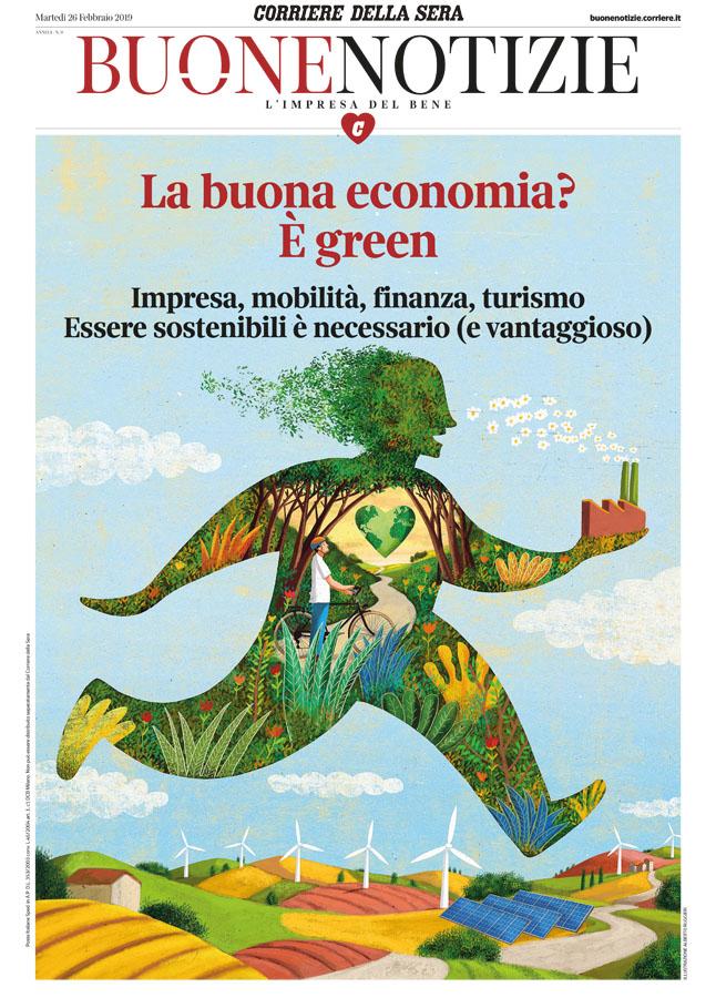 Theispot com - Alberto Ruggieri's Cover Illustration for
